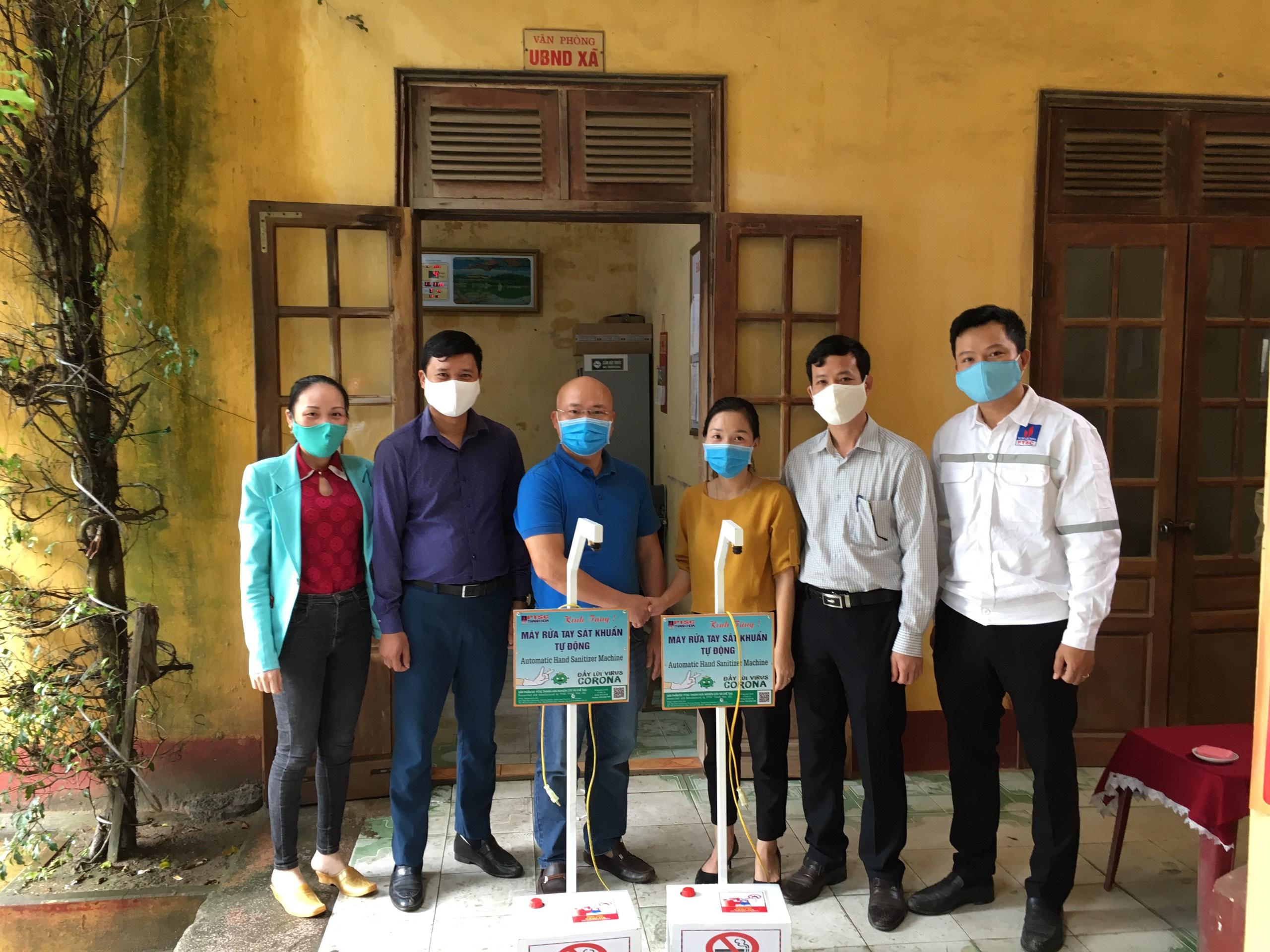 PTSC Thanh Hóa ủng hộ phòng, chống dịch COVID-19 tại tỉnh Thanh Hóa